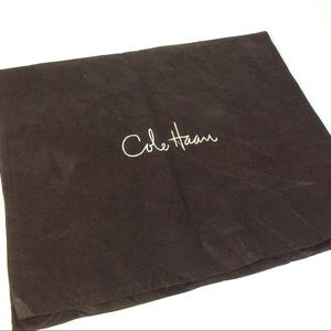"""Cole Haan Brown 2 Pocket Approx 13"""" x 15"""" Dust Bag"""